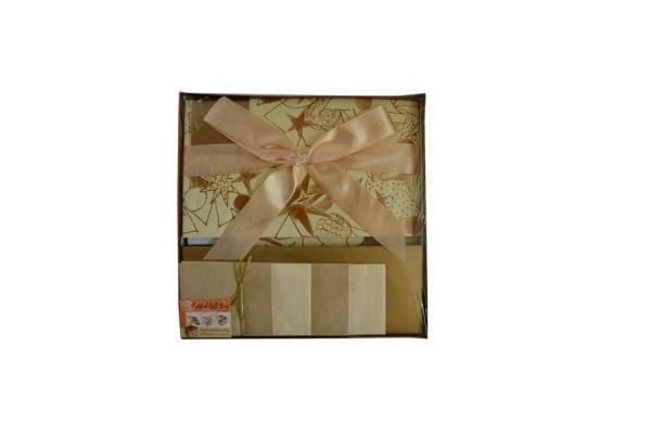 Коробка подарочная раскладная, 30*30*17 см, картон