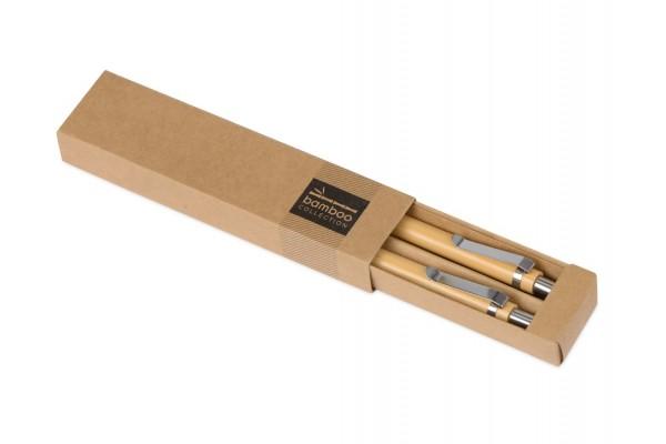 Набор Bamboo: шариковая ручка и механический карандаш