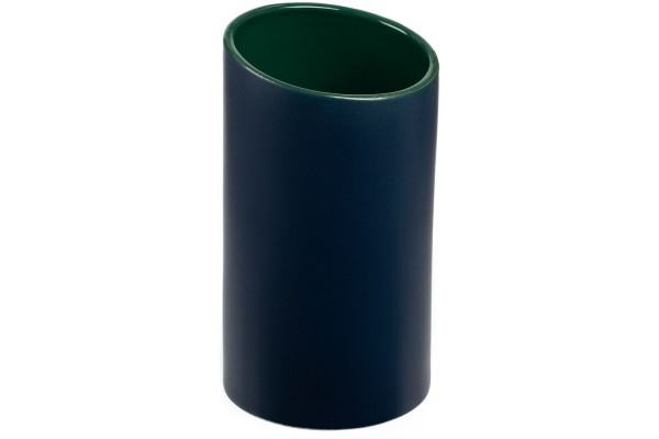 Ваза Form Fluid, средняя, сине-зеленая