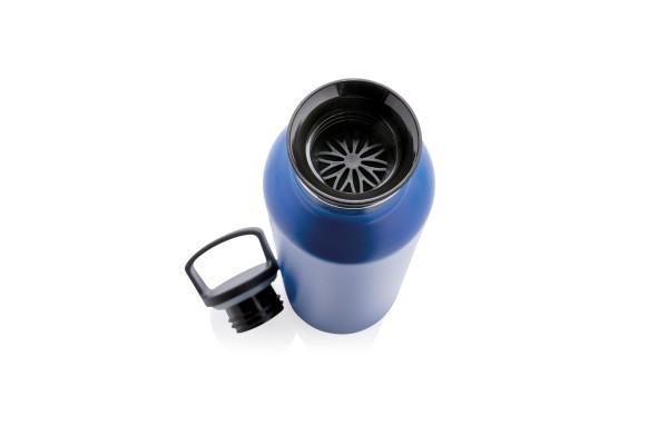 Герметичная вакуумная бутылка, синяя