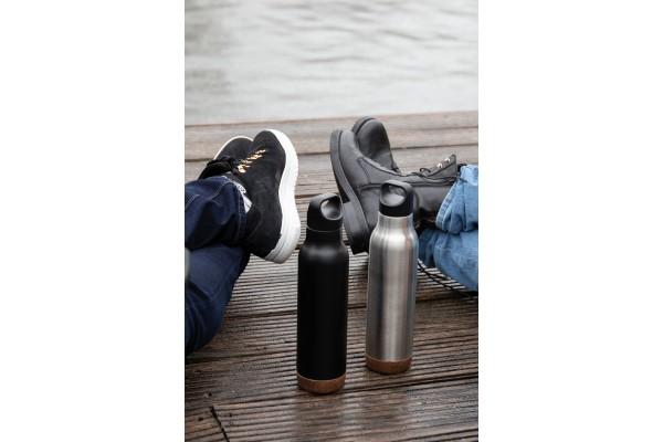 Герметичная вакуумная бутылка Cork, 600 мл