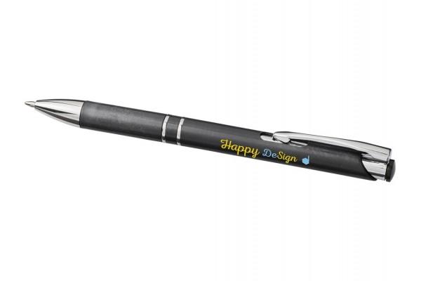 Ручка шариковая Moneta из АБС-пластика и пшеничной соломы