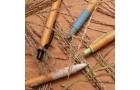Ручка из бамбука и пшеничной соломы