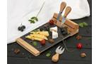 Набор для сыра из бамбука и сланца Taleggio