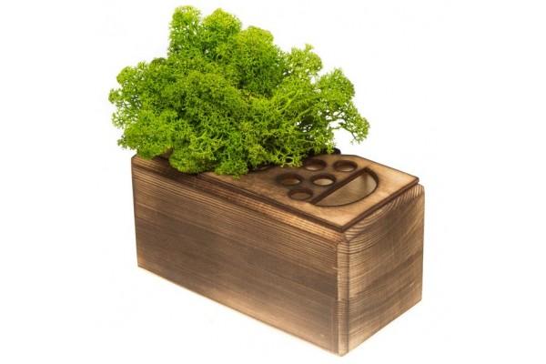 Органайзер GreenOffice, малый, зеленый