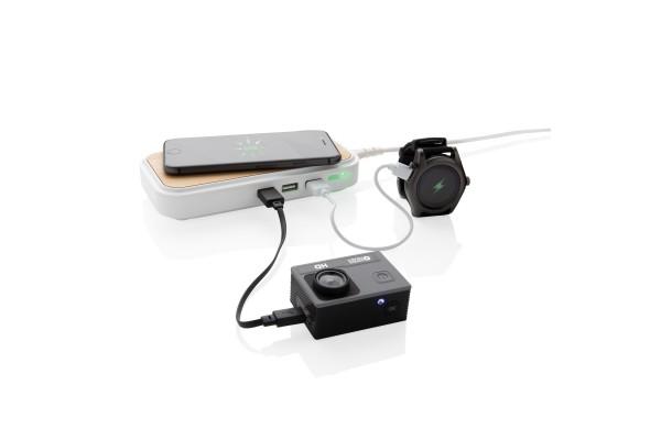Беспроводная док-станция Bamboo 5W c 3 USB-портами