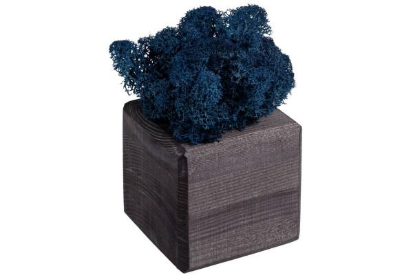 Декоративная композиция GreenBox Black Cube, синий