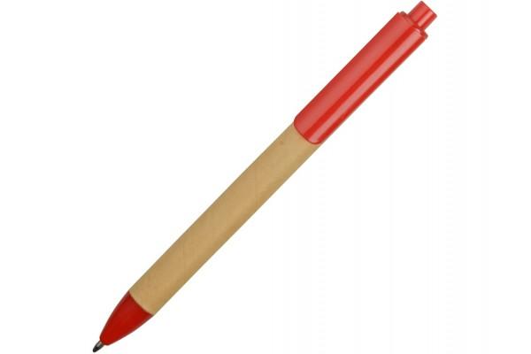 Ручка картонная шариковая Эко 2.0 красная
