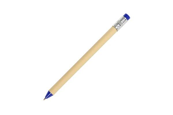 N12, ручка шариковая, синий, картон, пластик, металл