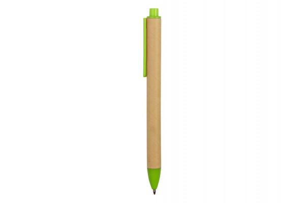 Ручка картонная шариковая Эко 2.0 салатовый