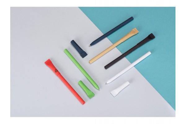 Ручка картонная с колпачком Recycled