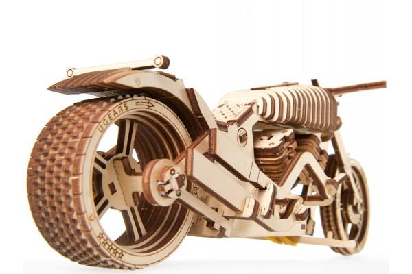 3D-ПАЗЛ UGEARS Байк VM-02