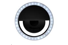 Подсветка для селфи SPOTLIGHT, 8,5х 3,3 см, черный, пластик