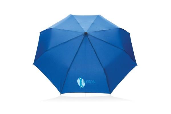 Автоматический эко зонт из RPET 21 синий